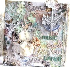 Layout by Emeline Seet using the Prima Fairy Belle Collection by Jodie Lee.