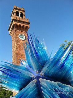 Murano Province of Venezia , Veneto Italy. This sculpture is more amazing in person. It was an astonishing surprise.