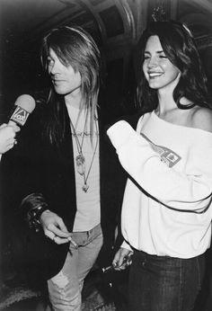 Axl Rose and Lana Del Rey Guns N' Roses Credits to Unknown #axl rose #gunsnroses #lanadelrey #axlroseandlanadelrey
