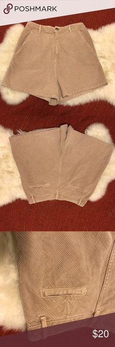 Zara Trafaluc High Waisted Corduroy Shorts Very modern corduroy shorts from Zara. Zara Shorts