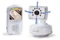 """For parents looking for the best in handheld color video monitors, Summer Infant's 'Best View' Handheld Color Video Monitor is it. It's not only 100% digital, providing a clear and secure transmission, but it looks and works great and has a 2.5"""" color display screen with pan, scan and zoom camera options to get the best view of baby."""
