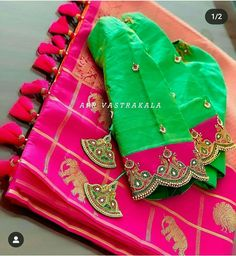 Photo shared by missblouses on March 17 2020 taggingYou can find Wedding outfit and more on our website.Photo shared by missblouses on March 17 2020 tagging Cutwork Blouse Designs, Saree Kuchu Designs, Kids Blouse Designs, Wedding Saree Blouse Designs, Pattu Saree Blouse Designs, Simple Blouse Designs, Stylish Blouse Design, Blouse Patterns, Sari Blouse