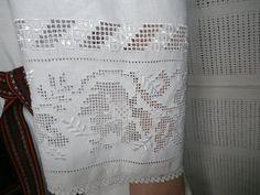 Tsyrka embroidery from Bukovyna, Ukraine Hardanger Embroidery, Embroidery Patterns, Hand Embroidery, Picot Crochet, Crafts, Blouses, Dressmaking, Needlepoint Patterns, Manualidades