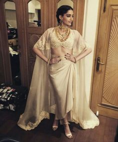 In Anamika Khanna for Filmfare 2015