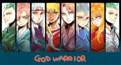 God warriors - Saint Seiya- Saga Asgard