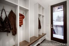 veranda interiors closets for hanging shoes etc