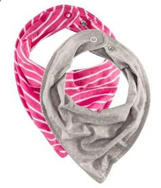 baby scarves instead of bibs