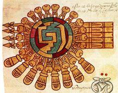 Aztecas, México, Códice Mexica, detalle