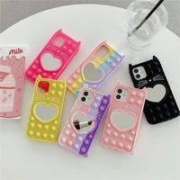 Kawaii Phone Case, Girl Phone Cases, Cute Phone Cases, Toy Iphone, Pop It Toy, Washi Tape Dispenser, Cute Spiral Notebooks, Heart Bubbles, Kids Notes