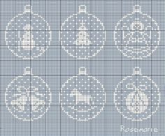 "Photo from album ""Christmas embroidery"" on Yandex. Crochet Christmas Decorations, Cross Stitch Christmas Ornaments, Xmas Cross Stitch, Cross Stitch Cards, Christmas Embroidery, Christmas Cross, Cross Stitching, Cross Stitch Embroidery, Cross Stitch Designs"