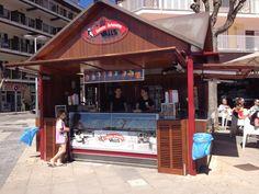Gelats Valls - El nostre Kiosc del Port de Pollença, per a molts un referent, un punt de trobada.