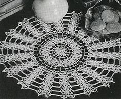 Williamsburg Doily free pattern (vintage)