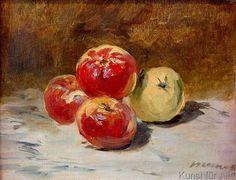 Edouard Manet - Vier Äpfel
