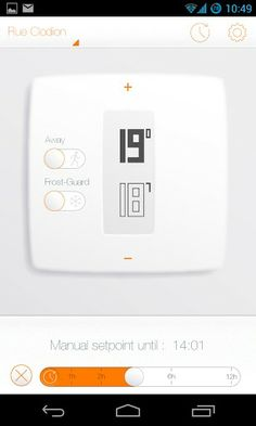 Netatmo Thermostat for Android screenshot #3
