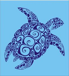 mermaid and honu tattoo - Google Search