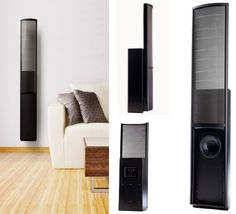 Martin Logan Speakers, put upholstery wall first to cut bounce back.