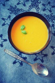 maślana zupa dyniowa