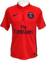 Camisa 3 Paris Saint-Germain Nike 2015 Vermelha