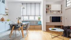 Piękna kuchnia: wnętrza w klasycznym stylu - Galeria - Dobrzemieszkaj.pl Teak, Architecture Design, Interior Design, Kitchen, Table, Furniture, Behance, Home Decor, Room