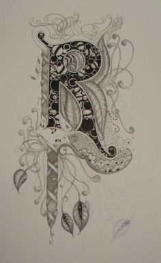 zentangle letters | ... Longarm Machine Quilting & Teaching the Art of Zentangle®: May 2011