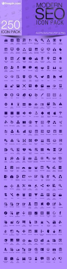 Free Download: Modern SEO Icon Pack