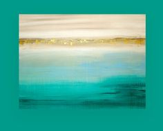 This is an original one of a kind acrylic abstract painting on gallery wrapped canvas with no visible staples by Ora Birenbaum.  Very soft muted