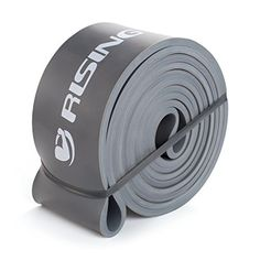 RISING 41 inch Resistance Band Assisted PullUp Band Powerlifting Bands Singal Unite Dark Grey 120175 LBS >>> Check out the image by visiting the link.