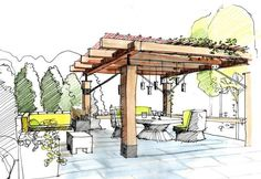 Landscape Architecture Garden Plan -- Landscape Architecture Design Process Pdf these Landscape Architect Jobs Los Angeles Croquis Architecture, Landscape Architecture Drawing, Landscape Sketch, Landscape Drawings, Landscape Plans, Cool Landscapes, Architecture Details, Landscape Architects, Desert Landscape