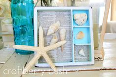 Keepsake Shadow box tray.