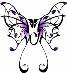 This will eventfully be my new tattoo :)  Gorgeous - I love butterflies & Michael so awesome to see the 2 things together. :)
