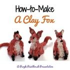 This is a PDF project presentation that demonstrates how to create a three-dimensional fox sculpture out of clay using step-by-step kid-friendly di...