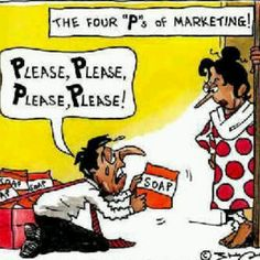 The Four Ps of Marketing #jokes #fun