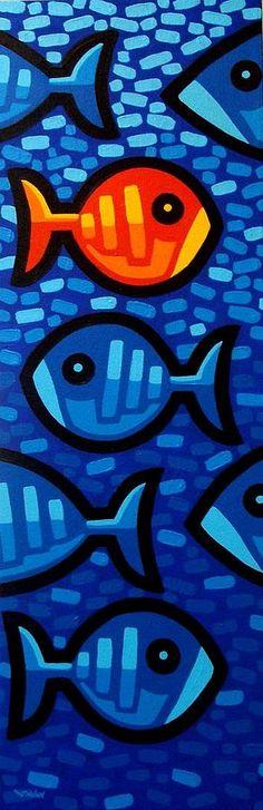 Rebel Fish II by John Nolan
