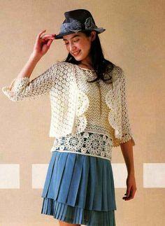 Crochet blouse & jacket — Crochet by Yana