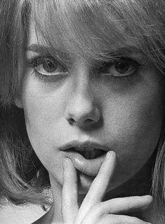 Catherine Deneuve, photo by Bert Stern, French Vogue, 1964
