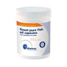 Pharmax Finest Pure Fish Oil - Orange 120 capsules