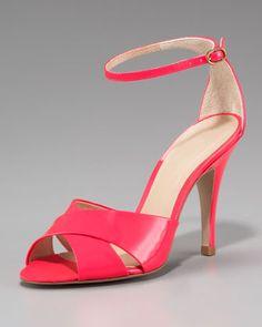 Patent+Leather+Sandal+by+Pour+la+Victoire+at+Neiman+Marcus.