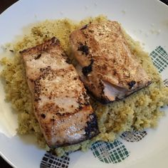 salmon. Lemon and butter salmon with lemon and coriander couscous ...