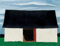 Georgia O'Keeffe - LITTLE BARN