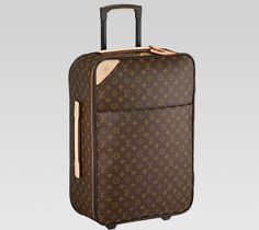 fea0fd36e91b Louis Vuitton Monogram Canvas Pegase Suitcase as seen on Kendall Jenner  Travel Must Haves