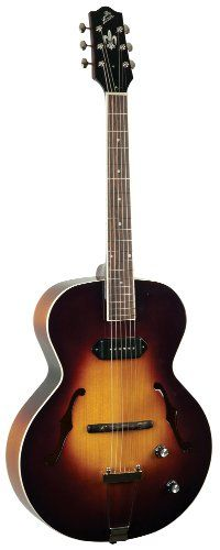 Save $ 217 order now The Loar LH-309-VS Archtop Guitar with P-90 Pickup at Cheap