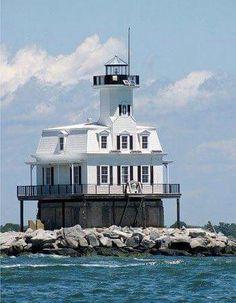 Long Beach Bar Lighthouse