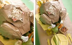 How to Make a Paper Bag Turkey