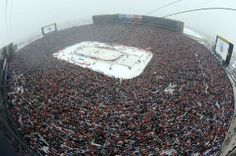 Amazing view of the 2014 Winter Classic!