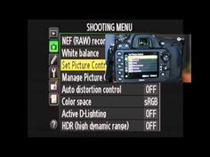Nikon D600 Shooting Menu Walkthrough - YouTube