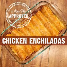 These 21 Day Fix approved chicken enchiladas are simple and delicious! Mexican is my downfall and I looooove enchiladas. I have made tons of chicken enchilada recipes over the years but, recently, I went looking for one that was simple, 21 day fix approved, and tasted great. This is what I came up with and … … Continue reading →