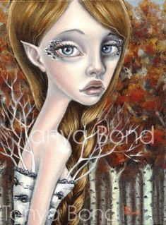 Birch -5x7 print by Tanya Bond. Starting at $9 on Tophatter.com!