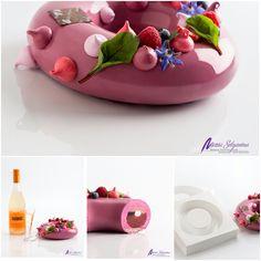 Pastelería de Autor y Maridaje Abril 2015. Creaciones de la Chef Maria Selyanina…