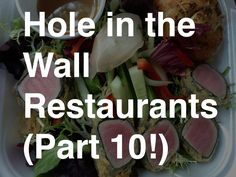 Hole in the Wall | Metro Jacksonville