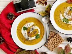 Healthy carrot and coriander soup recipe